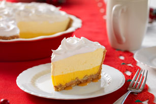 Triple-Layer Eggnog Pie Image 1