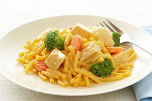 Cheesy Chicken & Veggie Mac