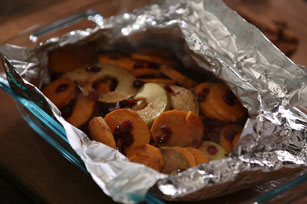 Karen's Cranberry Apple Sweet Potato Packet