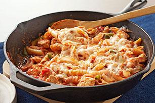 Italian Chicken Pasta Skillet