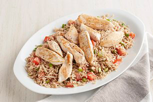 Chicken with Parmesan Rice Image 1
