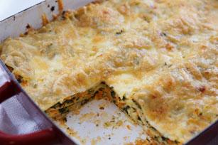 Lasagne crémeuse aux légumes  Image 1