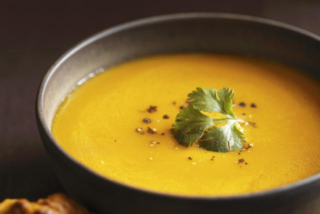 Soupe crémeuse à la citrouille Image 1