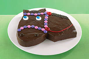Giddy-Up Horse Cake