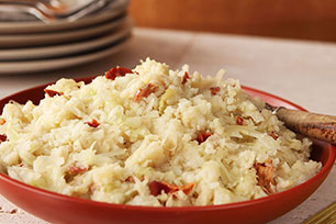 Irish Potatoes and Cabbage with Bacon (Colcannon) Image 1