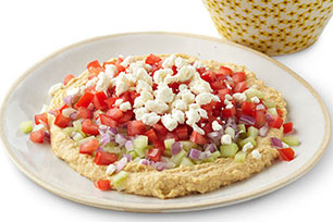 Chunky Vegetable Hummus Spread