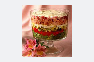 After Easter Layered Salad