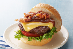 All-American BBQ-Bacon Cheeseburgers