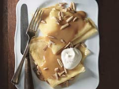 Almond Dulce de Leche Crêpes