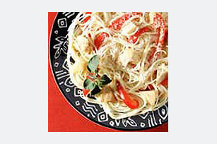 Angel Hair with Artichokes and Mustard Image 1