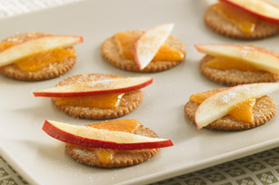 Apple-Cheddar Stackers