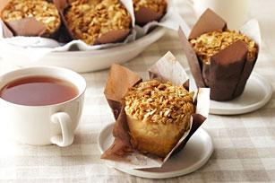Apple-Peanut Butter Streusel Muffins