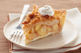 Apple-Pear Crumble Pie