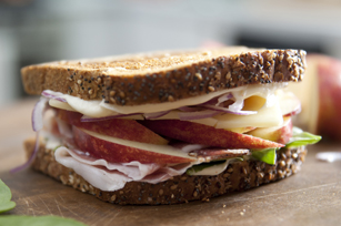 Apple & Prosciutto Sandwich