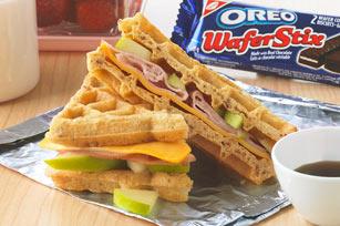 Apple Waffle-Wich