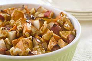 Apple-Walnut Sweet Potatoes Image 1
