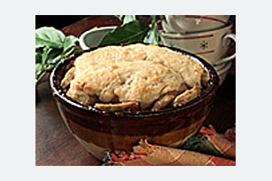 Apple-Raisin Cobbler