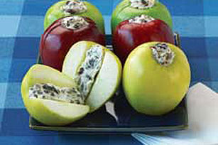 Apples and Cream Cheese Snacks  Image 1