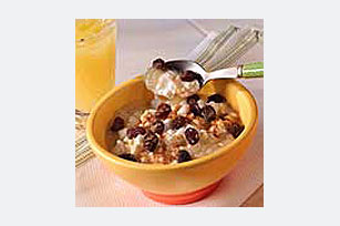 Apple-Raisin Cottage Cheese