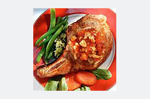 Apricot-Walnut Pork Chops Image 1