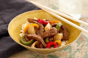 Sauté asiatique au bœuf