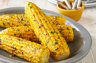 Asian-Twist Grilled Corn on the Cob