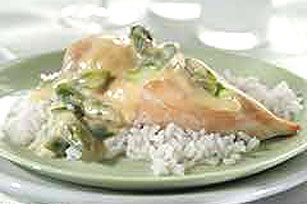 Asparagus-Sauced Chicken Image 1