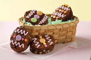 BAKER'S One-Bowl Easter Egg Brownies