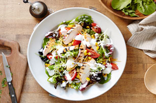 BBQ Chicken and Ranch Salad Image 1