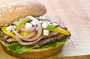 BBQ Greek Hamburgers Image 1