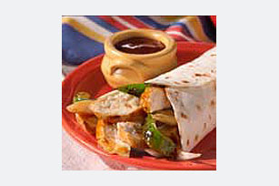 BBQ Chicken Wrap Sandwiches Image 1