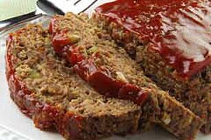 Meatless BBQ 'Meatloaf' Bake Image 1