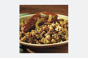 BBQ Pork Chops & Stuffing Image 1