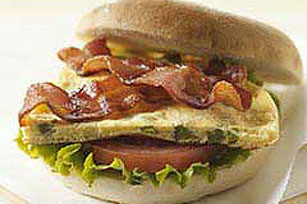 BLT Brunchwiches