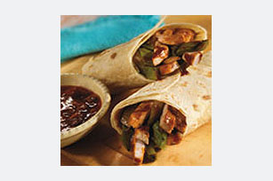 BULL'S-EYE Grilled Pork Wraps Image 1