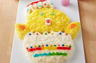 Poussin en gâteau
