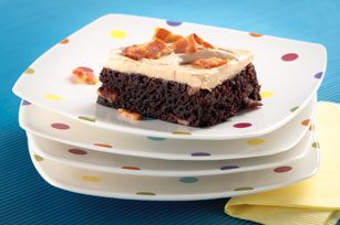 Bacon Brownies with Balsamic Frosting Image 1