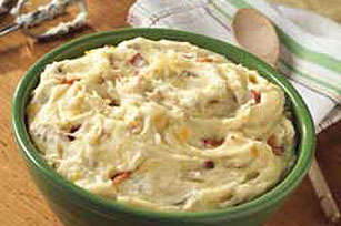 Bacon & Cheddar Mashed Potatoes