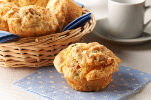 Bacon & Cheese Corn Muffins