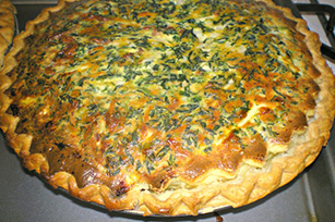 Spinach-Bacon Quiche Image 1