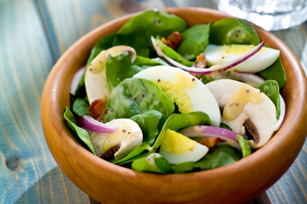 Bacon-Spinach Salad