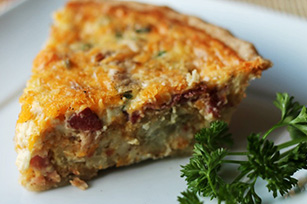 Bacon 'Tater Breakfast Quiche Image 1