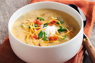 Bacon & Baked Potato Soup Image 1