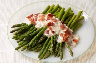 Bacon & Caramelized-Onion Asparagus