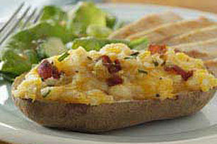 Bacon 'N Cheese Stuffed Potatoes Image 1