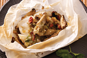 Baked Cod in Parchment Parcels Image 1