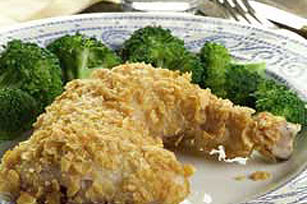 Baked Parmesan Crusted Chicken Image 1