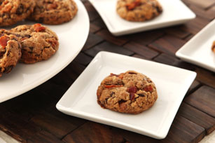One Bowl Bacon, Caramel and Chocolate Chunk Cookies