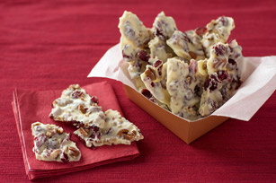 BAKER'S One-Bowl Cranberry Bark Image 1