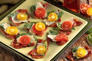 """Balsamic-Laced Bacon """"Bruschetta"""""""